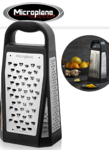 ELITE BOX GRATER - MICROPLANE - 5 FACES